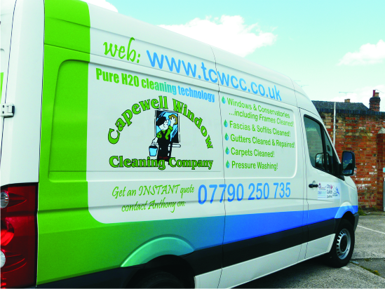 Digitally printed vehicle graphics msigns nottingham