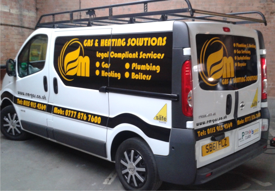 Yellow reflective lettering Wow factor