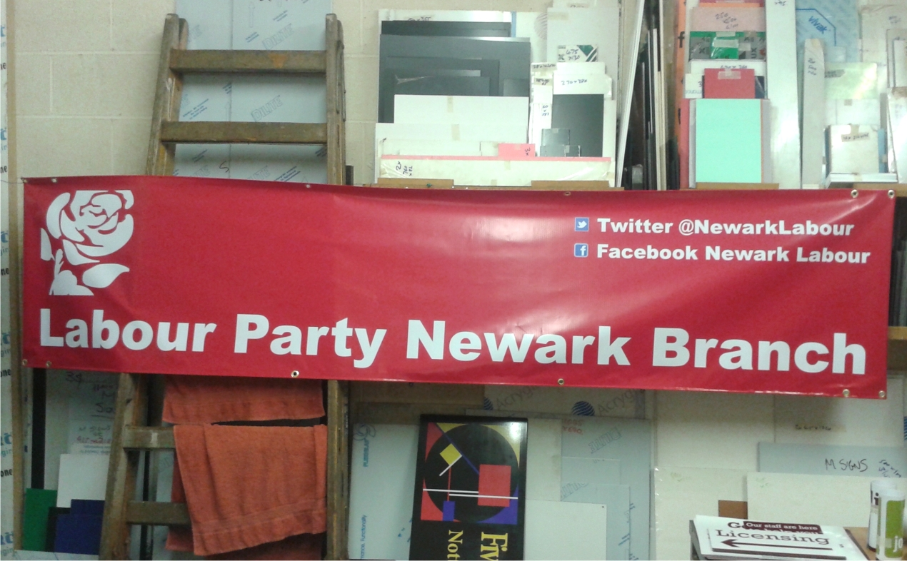 Digitally printed pvc banner by M Signs