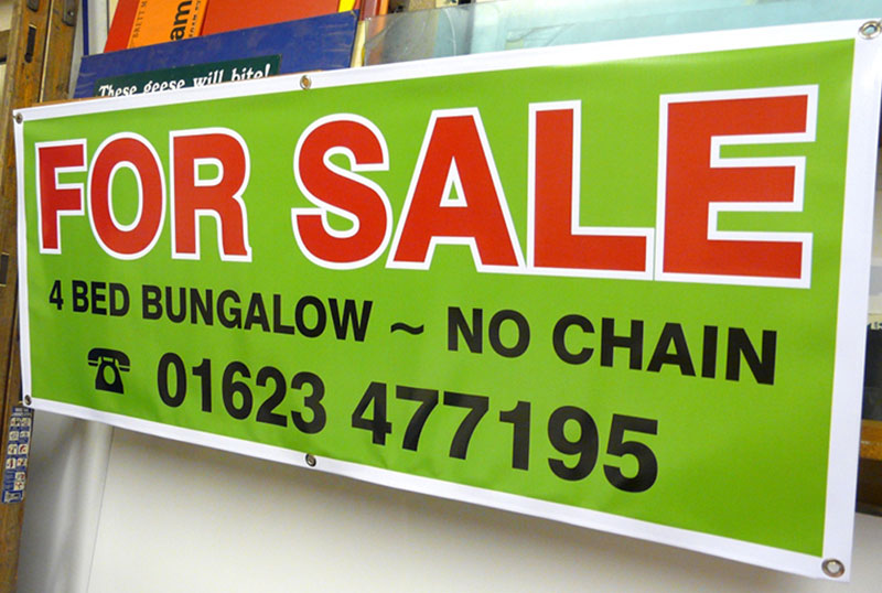 For Sale Banners Nottingham