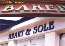 Moulded Letters
