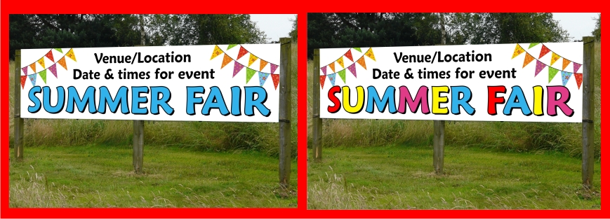 Summer Fair Banners Nottingham