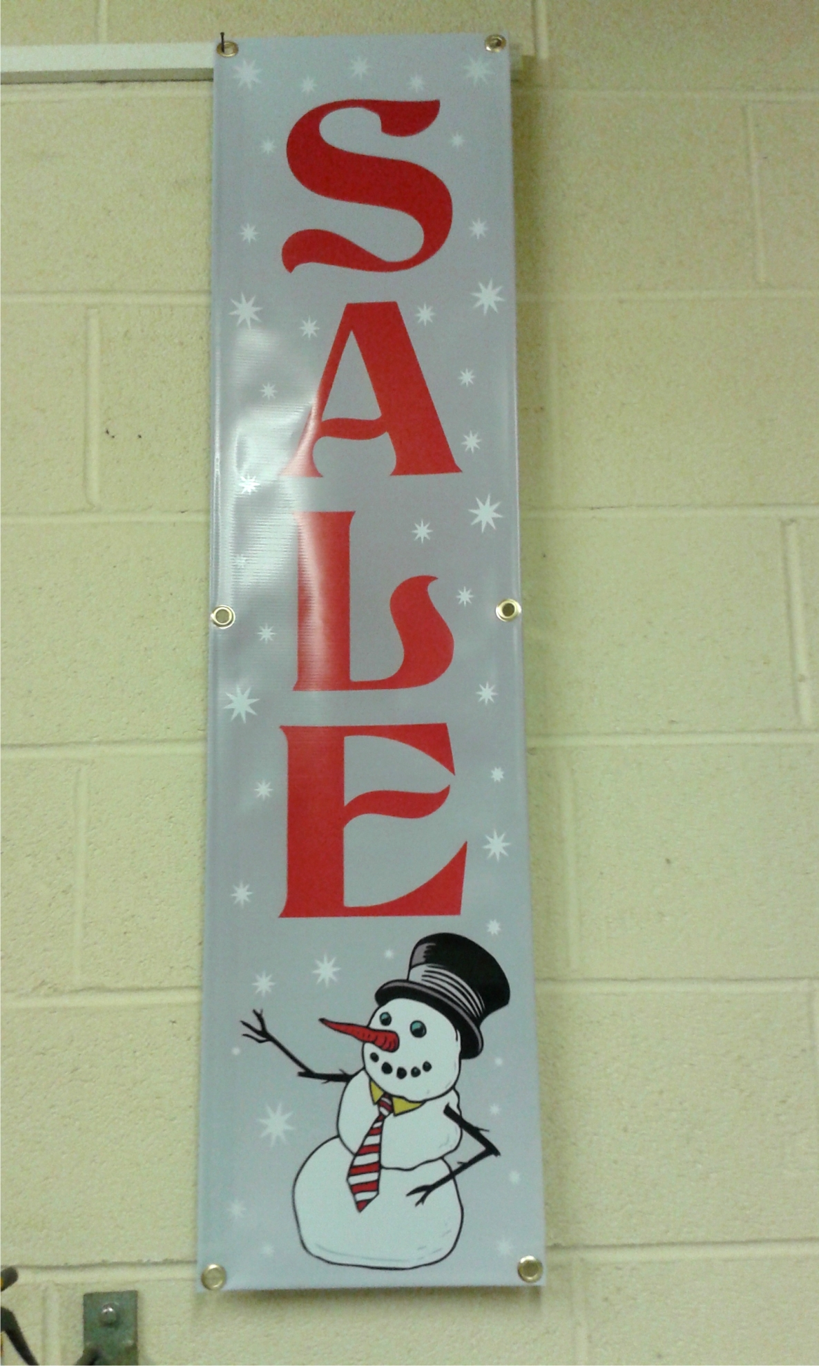 Xmas sale banner vertical